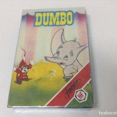 Barajas de cartas: NAIPES HERACLIO FURNIER . DISNEY DUMBO . CARTAS-BARAJA DUMBO DISNEY. Lote 64168331