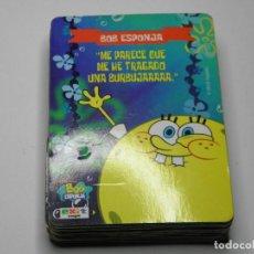 Jeux de cartes: BARAJA BOB ESPONJA. Lote 64617563