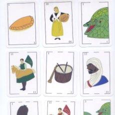 Barajas de cartas: BARAJA ESPAÑOLA DE LAS FIESTAS POPULARES DE TORTOSA. Lote 193077176