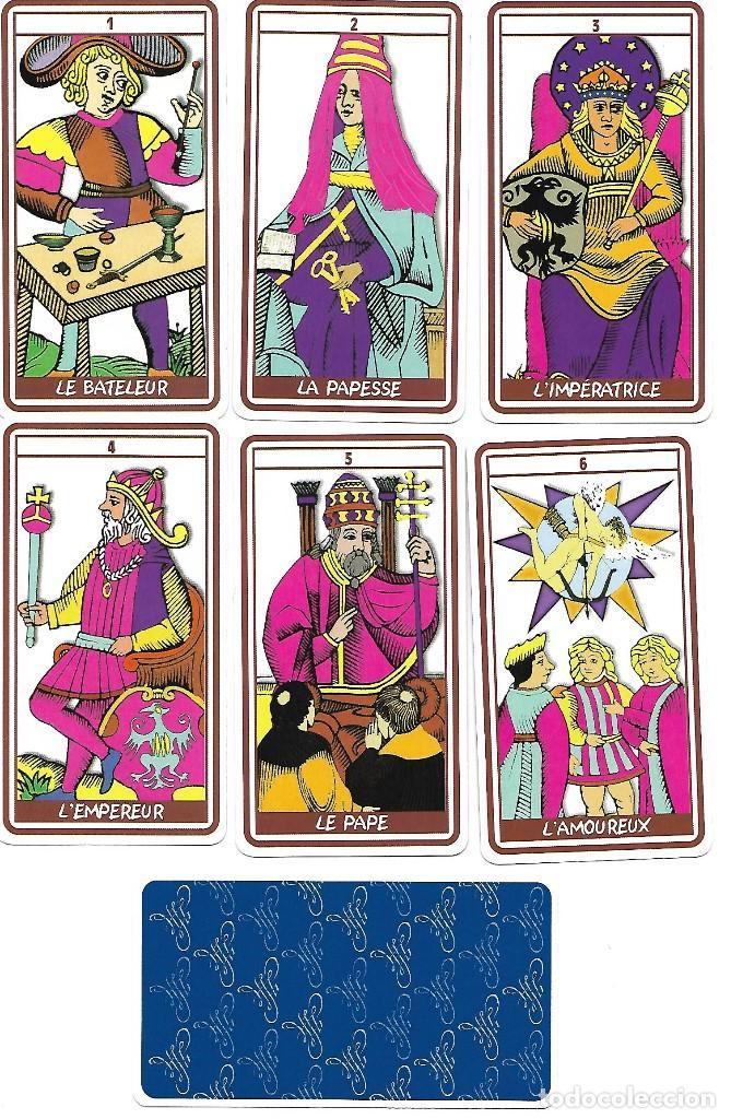 TAROT 22 ARCANOS MAYORES, 1999. NAIPES COMAS. (Juguetes y Juegos - Cartas y Naipes - Barajas Tarot)