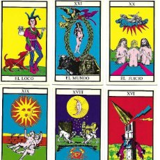 Barajas de cartas: TAROT ARCANOS MAYORES EDIT. BRUGUERA 1990. Lote 64857207