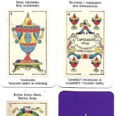 Barajas de cartas: BARAJA CARTAS CARTOMANTICAS DOS SIRENAS 1991, 40 NAIPES. Lote 76582909