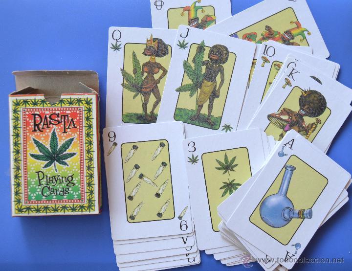 BARAJA DE CARTAS RASTA - MARIHUANA - TRADING CARTS (Juguetes y Juegos - Cartas y Naipes - Otras Barajas)