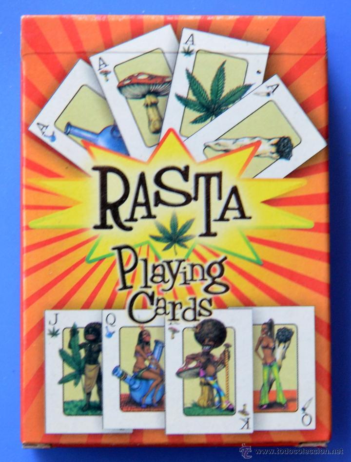 Barajas de cartas: BARAJA DE CARTAS RASTA - MARIHUANA - TRADING CARTS - Foto 2 - 176723489