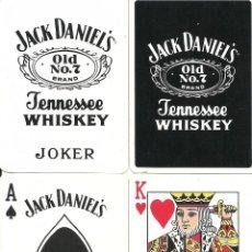 Barajas de cartas: JACK DANIEL`S WHISKEY - BARAJA DE POKER. Lote 64949123