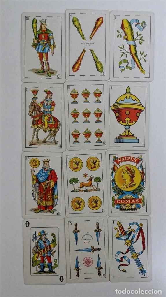 Barajas de cartas: BARAJA NAIPE ESPAÑOL DE 40 CARTAS NAIPES COMAS Nº 60 - Foto 2 - 65048959
