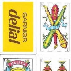 Barajas de cartas: GARNIER DELIAL - BARAJA ESPAÑOLA DE 40 CARTAS. Lote 65662370