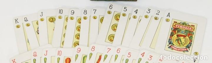 Barajas de cartas: BARAJA DE CARTAS NAIPES. HIJOS DE HERACLIO FOURNIER. ESPAÑA. PRINC. SIGLO. XX. - Foto 3 - 65852530