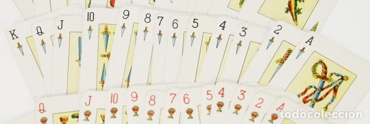 Barajas de cartas: BARAJA DE CARTAS NAIPES. HIJOS DE HERACLIO FOURNIER. ESPAÑA. PRINC. SIGLO. XX. - Foto 5 - 65852530