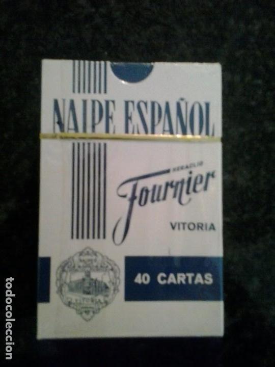 Barajas de cartas: Baraja de naipe, español fournier Publicidad Banco Gallego .Precintada - Foto 2 - 65963694