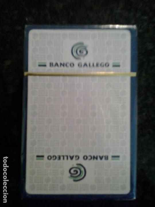 Barajas de cartas: Baraja de naipe, español fournier Publicidad Banco Gallego .Precintada - Foto 3 - 65963694