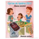 Barajas de cartas: AJEDREZ. CARTAS DE LA SUERTE 2017. Lote 108021790