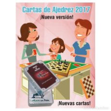 Barajas de cartas: AJEDREZ. CHESS. CARTAS DE LA SUERTE 2017. Lote 108021790