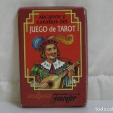 Barajas de cartas: TAROT *** ARCANOS Y CABALLOS *** JUEGO NAIPES (CARTAS) FOURNIER *** VER FOTOS ***. Lote 66011794