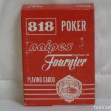 Barajas de cartas: BARAJA NAIPES HERACLIO FOURNIER *** 818 POKER ***. Lote 66012658