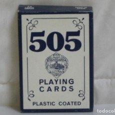 Barajas de cartas: BARAJA NAIPES HERACLIO FOURNIER ***505 POKER ***. Lote 66012782