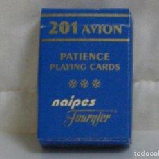 Barajas de cartas: FOURNIER *** CARTAS ** BARAJAS ** NAIPES *** SERIE 201 ANION PATIENCE *** MINIS ***. Lote 66013450