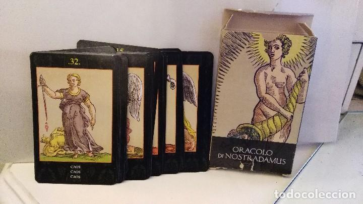ORÁCULO DE NOSTRADAMUS EDICIONES ORBIS AÑO 2002 COMPLETO (Juguetes y Juegos - Cartas y Naipes - Barajas Tarot)