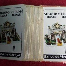 Barajas de cartas: BARAJA DE CARTAS FOURNIER PUBLICIDAD BANCO DE VIZCAYA. Lote 66474594