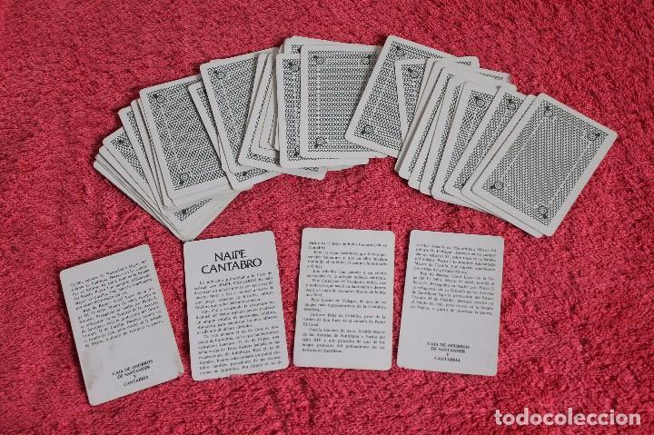 Barajas de cartas: NAIPE CANTABRO DE LA CAJA DE AHORRROS DE SANTANDER Y CANTABRIA 1981 - Foto 6 - 66495110