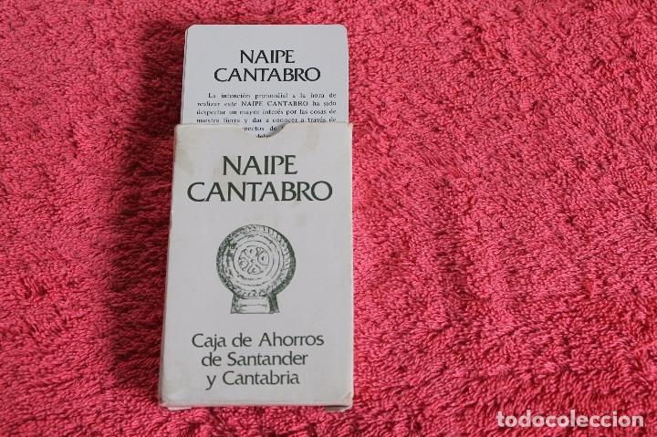Barajas de cartas: NAIPE CANTABRO DE LA CAJA DE AHORRROS DE SANTANDER Y CANTABRIA 1981 - Foto 9 - 66495110