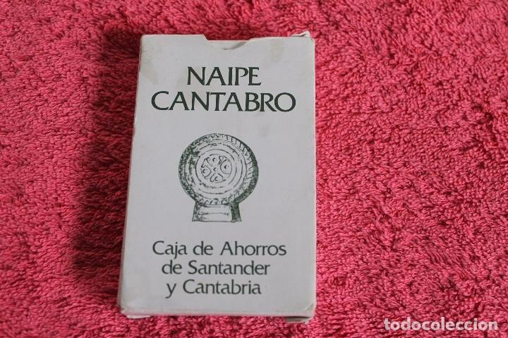 Barajas de cartas: NAIPE CANTABRO DE LA CAJA DE AHORRROS DE SANTANDER Y CANTABRIA 1981 - Foto 10 - 66495110