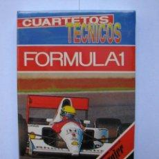 Barajas de cartas: BARAJA FORMULA 1 HERACLIO FOURNIER PRECINTADA. Lote 137964046