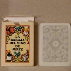 Mazzi di carte: BARAJA NAIPES LA BARAJA DEL VINO DE JEREZ MARQUES DE MISA NUEVA A ESTRENAR. Lote 67058238