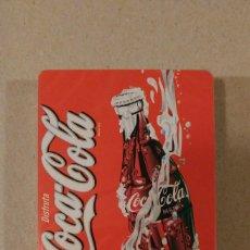 Barajas de cartas: BARAJA DE CARTAS NAIPES FOURNIER COCA COLA COCACOLA POKER (SIN USAR). Lote 67059014