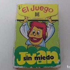 Barajas de cartas: ANTIGUA BARAJA INFANTIL JUEGO DE JUAN SIN MIEDO EDICCIONES RECREATIVAS . Lote 67310561