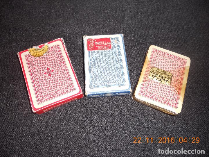 Barajas de cartas: 3 ANTIGUAS BARAJAS DE CARTAS DE LOS AÑOS 60 - Foto 12 - 67327729