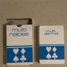 Barajas de cartas: BARAJA MULTINAIPES MULTIDERMOL 54 NAIPES. Lote 67354781