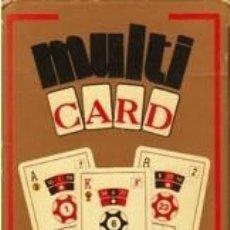 Barajas de cartas: BARAJA HERACLIO FOURNIER, MULTI-CARD NUEVA-PRECINTADA. Lote 67361225