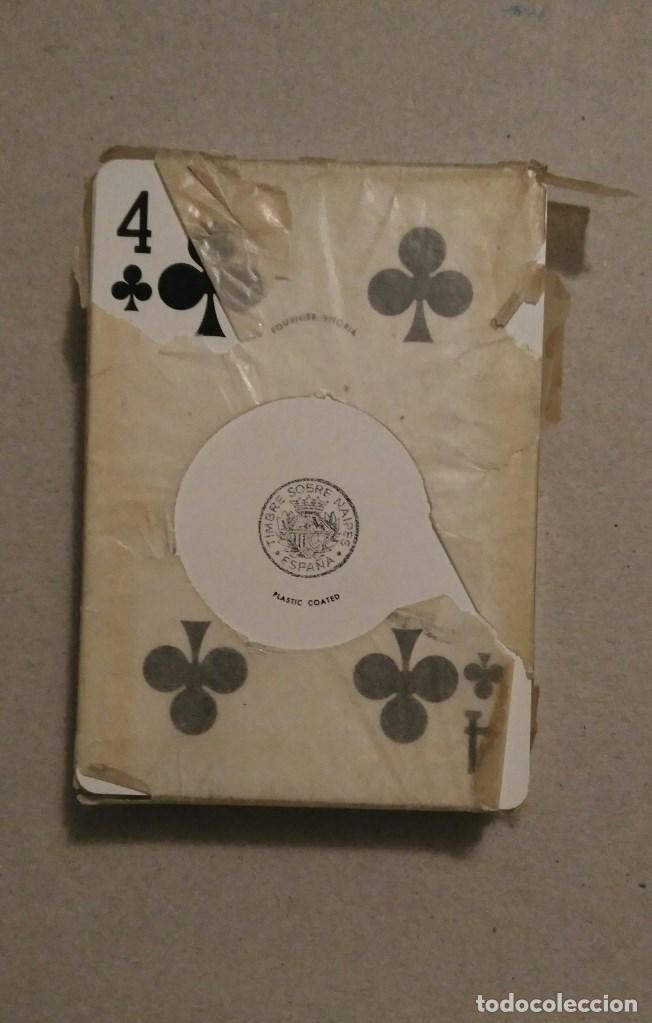 Barajas de cartas: BARAJA DE POKER HERACLIO FOURNIER. PUBLICIDAD SECOPAL TRELENKA-CRILENKA.MOTO. LEER - Foto 2 - 67448657