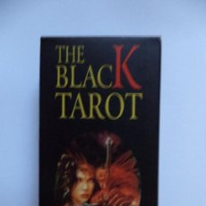 Barajas de cartas: THE BLACK TAROT. Lote 67853989