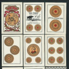 Barajas de cartas: BARAJA ESPAÑOLA. -DOS TOROS-. JOAN ROURA. BARCELONA. 1940'S. 40 NAIPES. Lote 67928413
