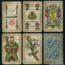 Barajas de cartas: BARAJA ESPAÑOLA. HIJOS DE HERACLIO FOURNIER. Nº 5. 1930'S. VITORIA.. Lote 67931665
