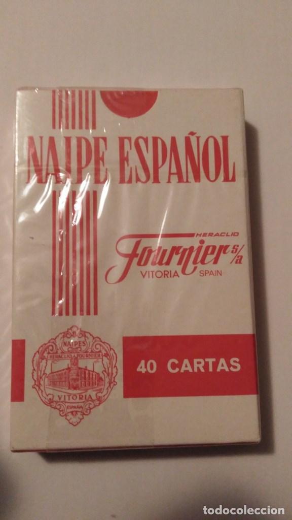 Barajas de cartas: BARAJA DE CARTAS HERACLIO FOURNIER PUBLICIDAD BRANDY SOBERANO JEREZ 40 CARTAS PRECINTADA NAIPES - Foto 2 - 67988001