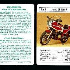 Mazzi di carte: BARAJA INFANTIL. MOTOS SUPERMOTOS. JUEGO 33 CARTAS.. Lote 68016105