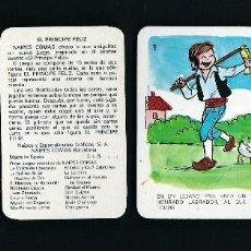 Barajas de cartas: BARAJA INFANTIL,. PRINCIPE FELIZ. NAIPES COMAS.JUEGO DE 30 CARTAS.. Lote 68028925