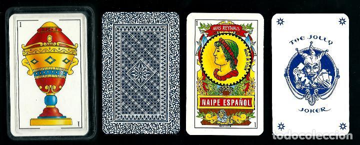 BARAJA ESPAÑOLA. MAS-REYNALS. 50 CARTAS. ESTUCHE CAJA DE PLASTICO. (Juguetes y Juegos - Cartas y Naipes - Baraja Española)