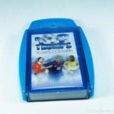 Jeux de cartes: BARAJA DE CARTAS DE TOP TRUMPS 2005 ESTELLAS DE FÙTBOL CACH012. Lote 68241981