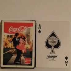 Barajas de cartas: BARAJA DE CARTAS HERACLIO FOURNIER PUBLICIDAD DE COCA COLA POKER 54 CARTAS NAIPES SIN USAR. Lote 68269717