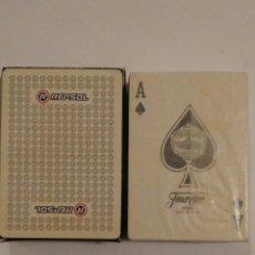 Barajas de cartas: BARAJA DE CARTAS FOURNIER PUBLICIDAD LUBRICANTES Y COMBUSTIBLES REPSOL POKER 54 CARTAS PRECINTADA. Lote 68270545