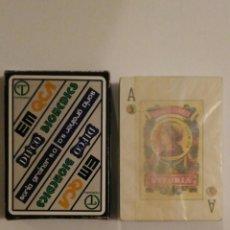 Barajas de cartas: BARAJAS DE CARTAS FOURNIER PUBLICIDAD SORIA GREINER SA 54 CARTAS POKER ESPAÑOL NAIPES PRECINTADA. Lote 68270845