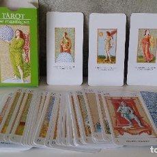 Barajas de cartas: BARAJA CARTAS TAROT DE MANTEGNA ORBIS FABBRI. Lote 68309201