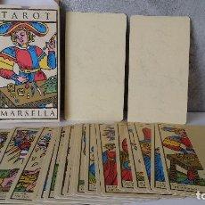 Mazzi di carte: TAROT MARSELLA 22 ARCANOS ORBIS FABBRI. Lote 150934936