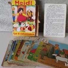 Barajas de cartas: BARAJA CARTAS FOURNIER HEIDI. Lote 68337245