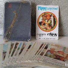 Barajas de cartas: BARAJA INFANTIL PIPPI. Lote 68337721