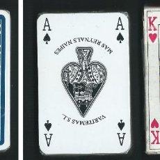 Barajas de cartas: BARAJA POKER. VARITEMAS S.L. MAS REYNALS NAIPES. CON CAJA, BARAJA PRECINTADA. Lote 68471189